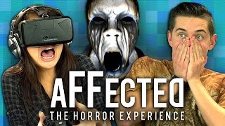OCULUS RIFT- AFFECTED: THE MANOR (Teens React: Gaming)