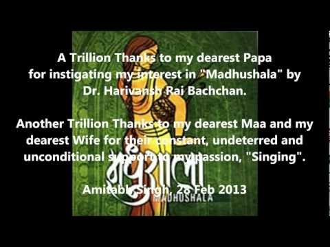 Madhushala Part2 - A Humble Tribute to Dr Harivansh Rai Bachchan...