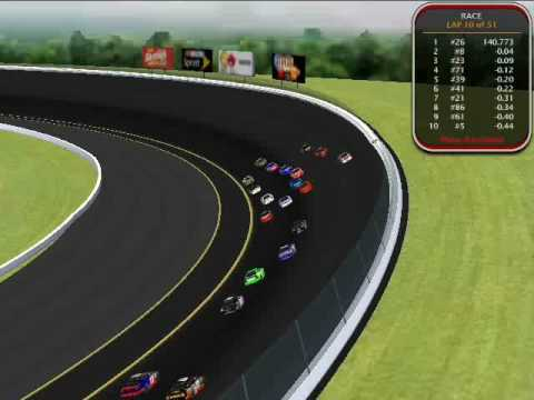 NR2003 2009 AMP Energy Series - Race #24 M&Ms Part 2