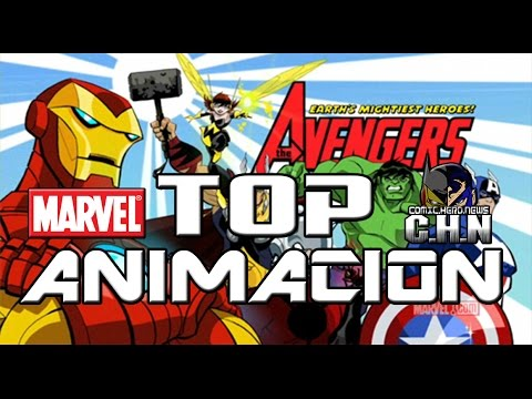 Top Series Animadas Marvel