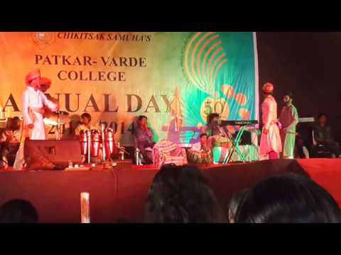 Shivaji Maharaj Powada [patkar College] video