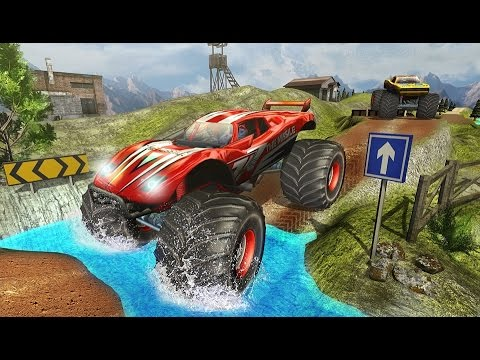 Monster Truck Hill Racing - Android Gameplay HD
