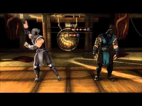 Starting Fatalities in Mortal Kombat (2011) [1080p HD] (PS3/XBOX 360)