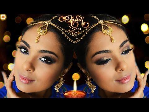 GRWM Diwali + Indian Wedding using Anastasia Beverly Hills Shadow Couture World Traveler Palette
