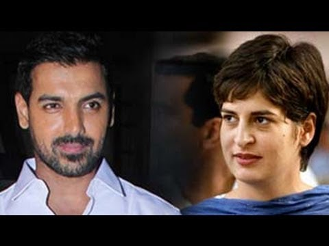 Priyanka Gandhi Worthy Of Sexy Person Award: John Abraham video