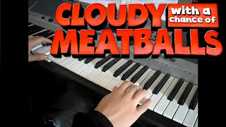 Cloudy with a Chance of Meatballs - Swallow Falls and Main Theme | Piano