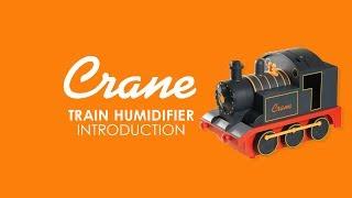 Red Train - Crane Cool Mist Humidifier (Adorable Range)
