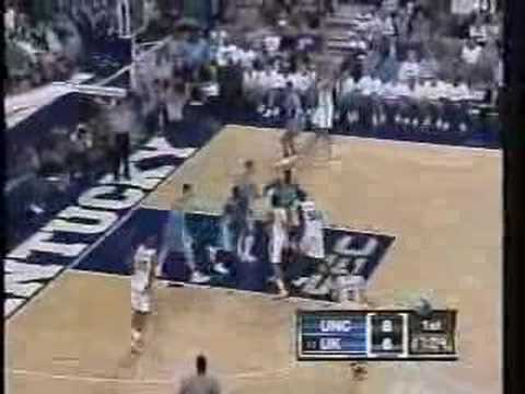 UNC vs. Tayshaun Prince Video