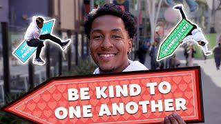 Rico Takes Random Acts of Kindness Day to the Next Level