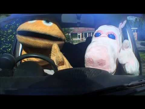 Rainbow Gear - When Zippy & George did 'Top Gear'