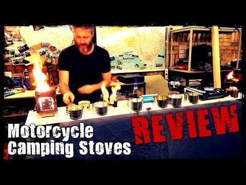 Motorcycle Camping Stoves - Review
