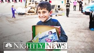 The Extraordinary Way One 10-Year-Old is Bringing Christmas to Others | NBC Nightly News