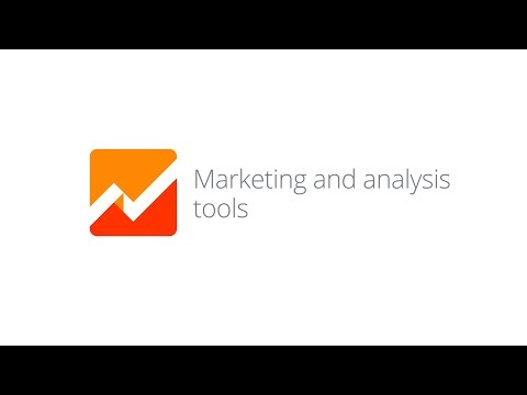 Mobile App Analytics Fundamentals - Lesson 1.2 Marketing and analysis tools
