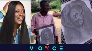 Fan inlove proposes to Jackie Appiah