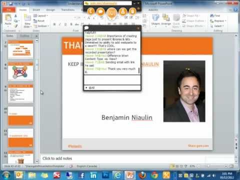 Understand What's in a SharePoint Site - Webinar by Benjamin Niaulin