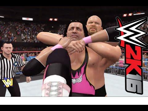WWE 2K16 Stone Cold Steve Austin Showcase (Stun Gun)