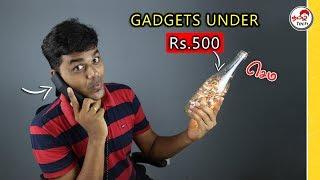 7 interesting Weird Gadgets under 500 | Tamil Tech