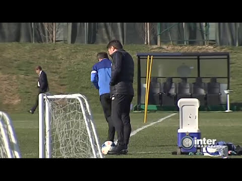 ALLENAMENTO INTER REAL AUDIO 07 03 2014