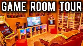 2019 HUGE Game Room Tour ! | MVG