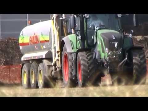 THE NEW FENDT 828 in Spargimento Liquame 2012 *HD*