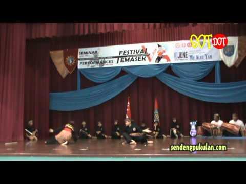 Festival Pencak Silat Temasek 2012 - Sunda Pajajaran video