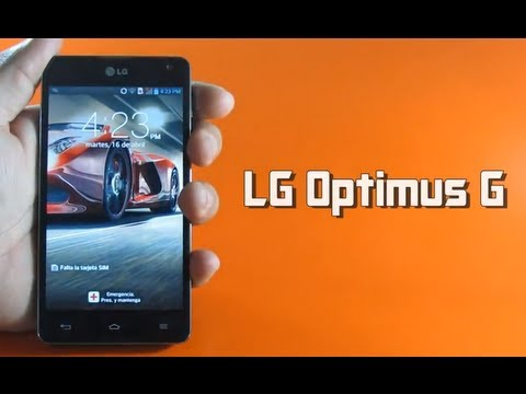Review LG Optimus G