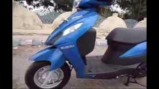 #ScooterFest:Suzuki Let's Walkaround Quick Review