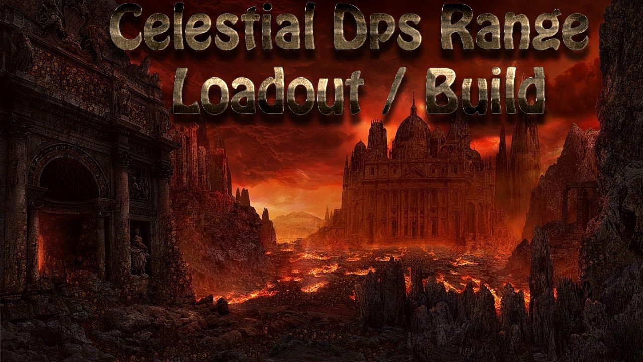 dcuo celestial dps range loadout build youtube