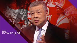 Hong Kong: Mass protests turn violent but China says story is 'distorted' - BBC Newsnight