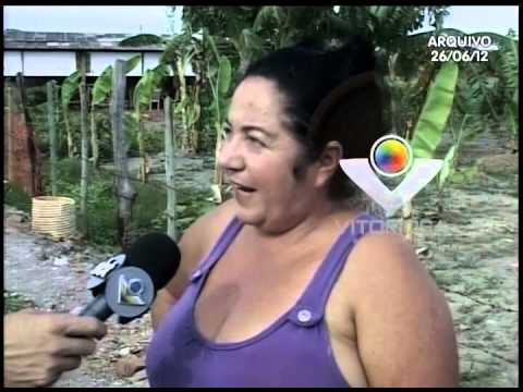 Sirlene há 8 anos luta para trazer energia elétrica para o local onde ela mora