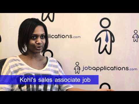 Kohl's Interview - Sales Associate
