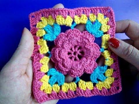 Como Unir Cuadros Para Cobija De Bebe Con Crochet | Consejos De ...