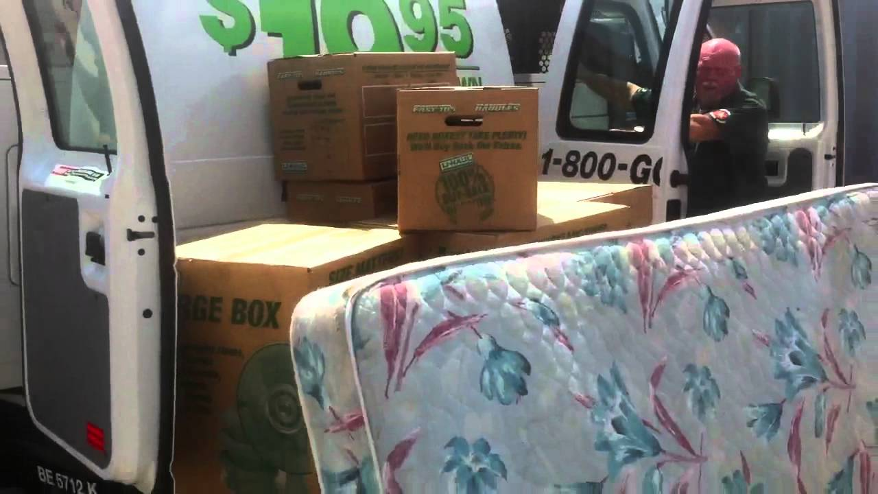 U Haul Cargo Van Be Loading Exercise Youtube