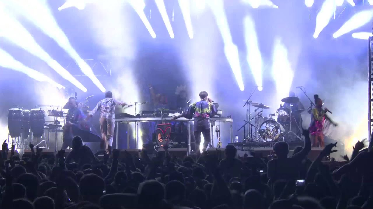 basement jaxx where 39 s your head at live at kendal calling 2013