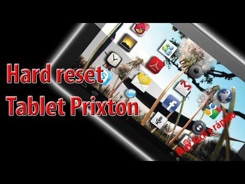 Hard reset tablet prixton. Reseteo fabrica