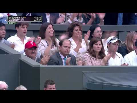 (HD) Roger Federer- Andy Murray 2012 Wimbledon Final Highlights