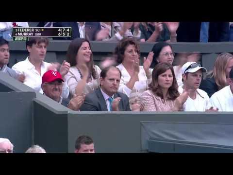 (HD) Roger Federer- Andy Murray 2012 Wimbledon Final Highlights