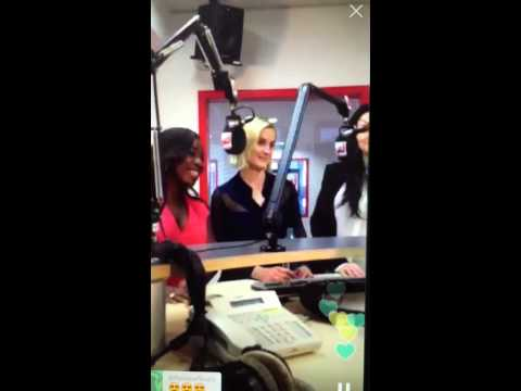 Laura Prepon, Taylor Schilling and Uzo Aduba on Radio Energy Hamburg in Germany (2.6.2015)