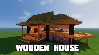 MINECRAFT BUILD TUTORIAL : HOW TO BUILD A STARTER HOUSE| Best Starter House / Starter Home