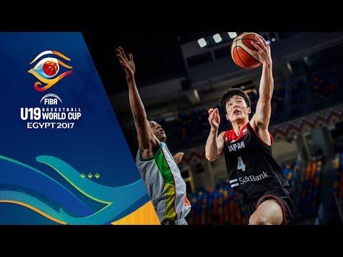 【代表】FIBA U19バスケットボールワールドカップ2017 日本 vs マリ