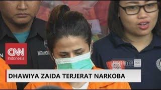 Polisi Gelar Barbuk Penggerebekan Narkoba Dhawiya, Putri Ratu Dangdut Elvy Sukaesih