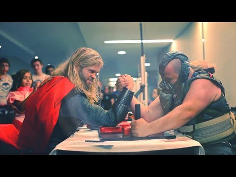 THOR vs. BANE - Viewer chooses who wins!