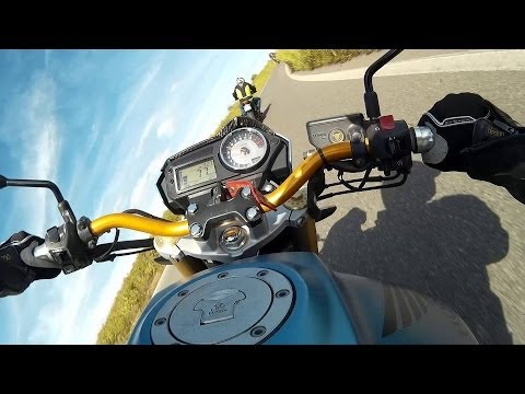 SJ4000 TEST MOTORCYCLE RIDE: MOTO ACTION   SJ4000 HD