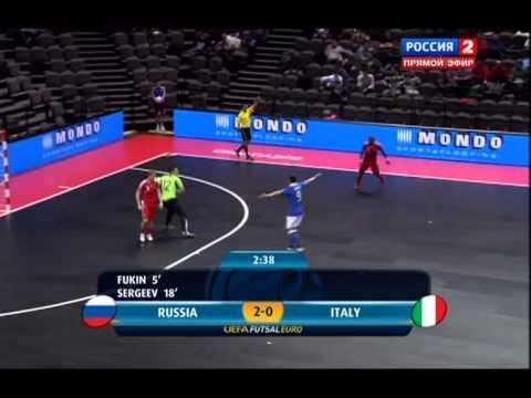 Futsal.Euro 2012.Group C Russia-Italy