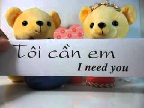 I Love You Quotes In Vietnamese : Learn to speak Vietnamese (Love) - YouTube