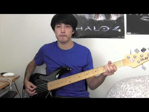 how to play hail to the king on bass