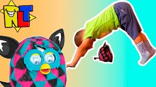 ✨ Йога Челлендж с Ферби от Ромы / Yoga Challenge with Furby