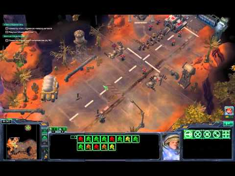 Starcraft 2: Campaign Brutal - Mission 01 - Liberation Day video