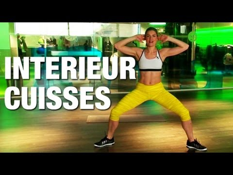Fitness master class int rieur des cuisses youtube for Etirement cuisse interieur
