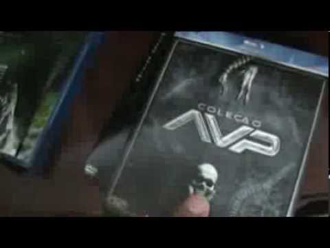 No Canto da Coleção #33 - Coleção AvP e Alien Anthology Blu-ray